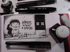 INKtober n.7 Inktober, Illustrations, Comics, Drawings, Beauty, Illustration, Sketches, Cartoons, Drawing