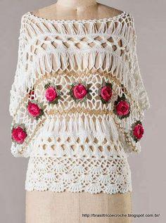 Anne Croche * Fashion * Craft: CROCHE CLIP 2 INSPIRACIONES