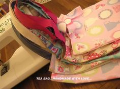 Tea Bag handmade