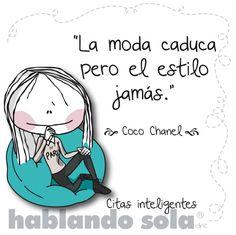 Cita inteligente de Coco Chanel