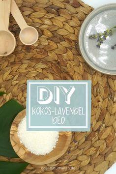 Hier zeigen wir dir wie du mit wenigen Zutaten ein super leckeres Deo herstellen kannst. Frisch, exotisch und nachhaltig. Nur mit natürlichen Zutaten. Strate jetzt gleich mit deinem DIY Deo. Alle Infos sind direkt im Pin! Die Zutaten findest du in unserem Shop.   DIY Deo / Deo selber machen | Deo mit Kokos | Deo mit Lavendel |Deo mit ätherischen Ölen | Rezepte für Öle | Ätherische Öle mischen | #sichgutestun #edelnaturwaren #DIYdeo Propolis, Peeling, Shampoo, Super, Beautiful, Food, Beauty Tutorials, Organic Beauty, Lavender