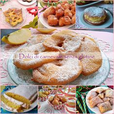 Raccolta di ricette : Dolci di carnevale senza glutine