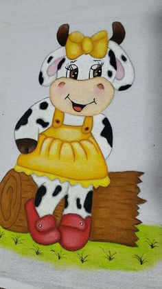 Funny Cows, Terracotta Flower Pots, Tigger, Arts And Crafts, Snoopy, Clip Art, Disney Characters, Cute, Flowers
