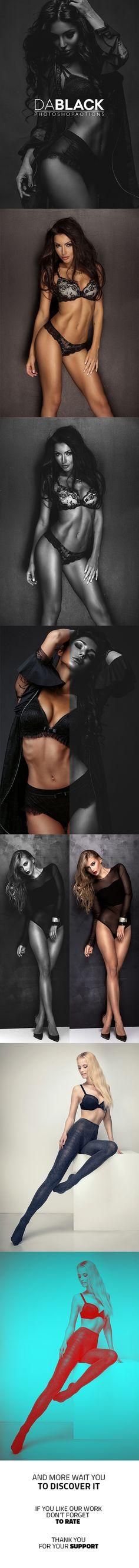 DaBLACK PRO Set Photoshop Actions #photoeffect Download: http://graphicriver.net/item/dablack-pro-set-photoshop-actions/14239210?ref=ksioks