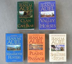 The Earth's Children Series, by Jean M. Auel