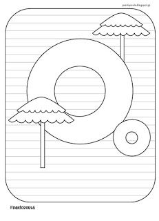 #paidopoula 🤗😄😊: Αφίσες γραμμάτων για το καλοκαίρι Grade 1, Kindergarten, Preschool, Printables, Symbols, Letters, Activities, Education, Blog