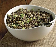 Lentil Salad with Sherry Vinaigrette by Fine Cooking