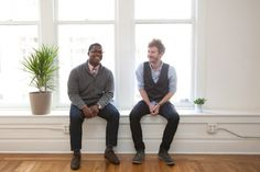 9 handsome tech gurus making S.F. awesome! Photos by Molly DeCoudreaux.