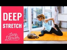 Ballet Total Body DEEP Stretching - YouTube