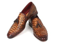 Paul Parkman Men& Genuine Python Tassel Loafers Camel is part of Shoes Dimensions As per size guide Made In United States Shipped From United States Lead Time To Ship Out More than 1 W - Loafers For Women Outfit, Loafers Outfit, Tassel Loafers, Loafer Shoes, Loafers Men, Stylish Mens Fashion, Mens Fashion Shoes, Men S Shoes, New Shoes