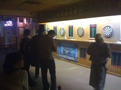 Drinks Saloon. The place for darts on weekends in Dallas