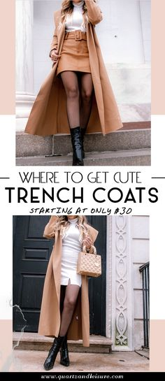 Have you been looking for cute trench coats but haven't found the right one?Today's post shows you where to buy cute trench coats for all styles