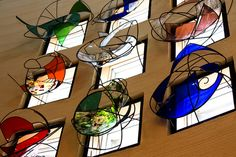 Japan /Kaga / Temple Aizenji by Nabemoto Stained Glass