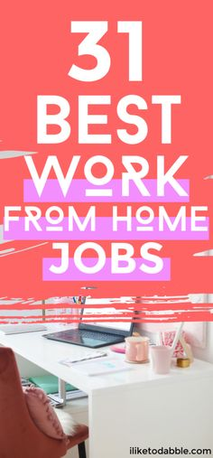 31 Best Work From Home Jobs Hiring Today - Make Money Ideas Ways To Earn Money, Earn Money From Home, Way To Make Money, Work From Home Opportunities, Busy At Work, Jobs Hiring, Financial Tips, Work From Home Moms, Online Jobs