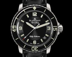 Blancpain - Fifty Fathoms, «Tribute to Fifty Fathoms Aqua Lung»