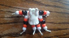 Halloween Hair Clips by PeanitGallery on Etsy