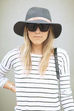 cute boho hat