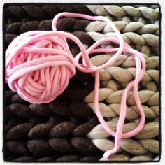 Ball of pink trim...wanting to learn this now