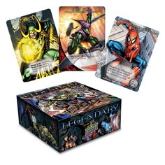"""Legendary: A Marvel Deck Building game -- """"Players take on the role of a S.H.I.E.L.D. agent, assembling his team to stop the scheme of an evil Mastermind. As a player fights & defeats villains, they gain victory points towards being the individual winner. If the players defeat the Mastermind's scheme, they collectively win the game. Fail to stop the Mastermind's scheme & everybody loses..."""""""
