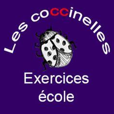 Les coccinelles : fiches d'exercices pour l'école GS CP CE1 CE2