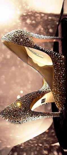 Brian Atwood SWAROVSKI crystal covered pump- #LadyLuxuryDesigns