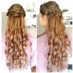 frisuren lange haare locken flechten mifrisuren