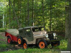 Bill Norris's - 1947 & Bantam, a great looking CJ2A