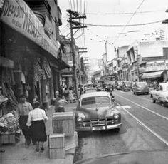 1957 São Paulo Rua José Paulino