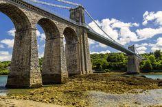 https://flic.kr/p/WpLceA | Menai Bridge | Menai Bridge -  Bridge that crosses the mainland over to the island of Angelsey - Wales - Uk
