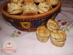 Tepertős pogácsa Muffin, Goodies, Cooking, Breakfast, Food, Cakes, Caramel, Sweet Like Candy, Kitchen