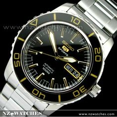 buy seiko 5 sports automatic mens watch snzj03j1 snzj03 made in japan buy watches online. Black Bedroom Furniture Sets. Home Design Ideas