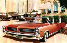 1964 Pontiac Bonneville Convertible - 'Sails Pitch': Art Fitzpatrick and Van Kaufman