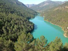 Embalse de #anchuricas #cazorla #sierrasegura #yeste http://hospederiariozumeta.com/