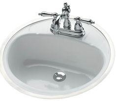 Bathroom Sink with Overflow