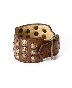 Frye Bracelet Leather Studded Cuff Frye Handtaschen & Accessoires Macy & # s Studded Leather, Leather Cuffs, Leather Bracelets, Popular Purse Brands, Buy Hats, Handbag Accessories, Fashion Bracelets, Bling, Jewels