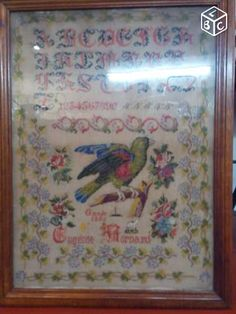 A19th Century FRENCH Sampler