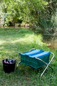 diy camp, diy tutorial, outdoor fabric, summer camping, outdoor chairs, chair design, storage design, camp chair, chair upholstery