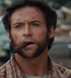 Wolverine Hugh Jackman cigar