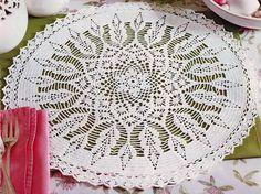 Crochet Art: Large Doily