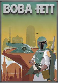 Star Wars Boba Fett Poster Cartel