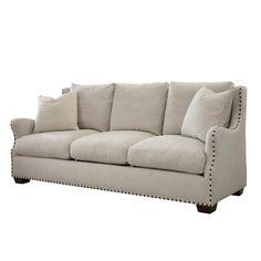 The Windsor Belgian Linen Sofa - Sofas - Living Room - Furniture