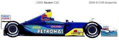 2003 Sauber C22, Petronas V10