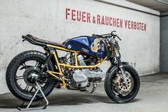 Ducati Pantah 500 Street Tracker - Hermann Köpf #motorcycles #StreetTracker #motos | caferacerpasion.com