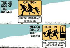 Presumptuous Politics: Border Crossing Cartoons