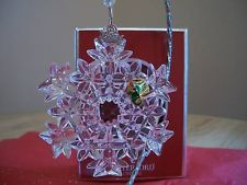 Waterford 2007 Snow Crystals Ornament  SNOWCRYSTALS