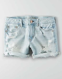 AEO Boy Midi Short , Royally Light | American Eagle Outfitters
