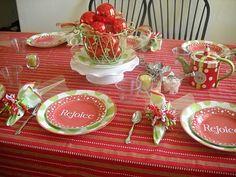 Saint Nicholas Tea tablescape at:http://suesordinarymiracles.blogspot.com/2010/12/st-nicholas-tea-party.html