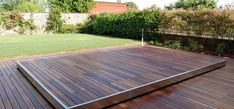 Security sliding deck pool cover - AMBIENT 400 - egoe