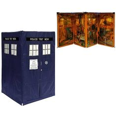 Doctor Who Expandable TARDIS Tent - Underground Toys - Doctor Who - Roleplay at Entertainment Earth