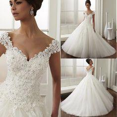 15 vestidos de novia corte princesa - Vix